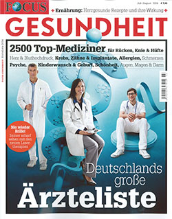 Focus Magazine List of Doctors 2014